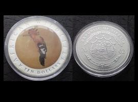 Liberia 2002 - 10 dollars UNC