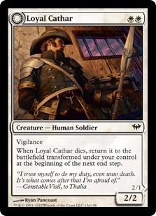 Loyal Cathar FOIL x3