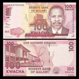 Poze Malawi 2012 - 100 kwacha, necirculata