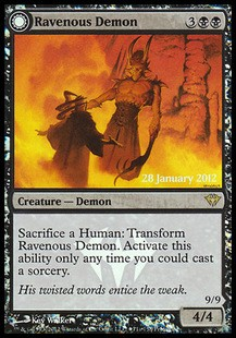 Ravenous Demon - Promo FOIL x3