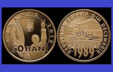 Romania 2019 - 50 bani, 30th Revolutie, UNC