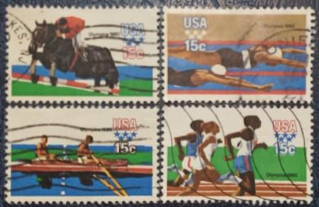 Statele Unite 1979 - J.O. Moscova, serie stampilata