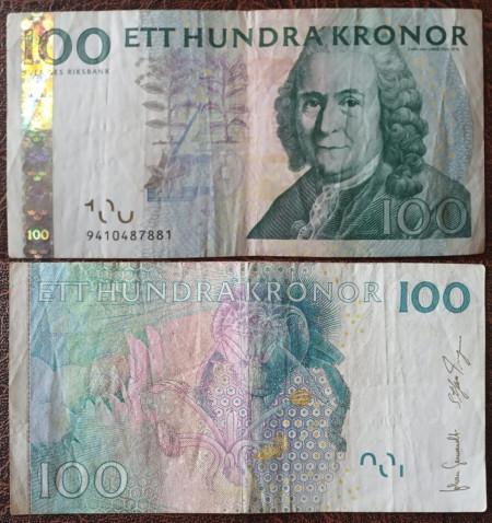 Suedia 2006 - 100 kronor, circulata