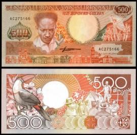 Surinam 1988 - 500 gulden, necirculata