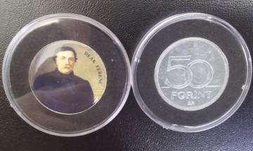 Ungaria 1992 - 50 forint UNC, cu Deak Ferenc - politician