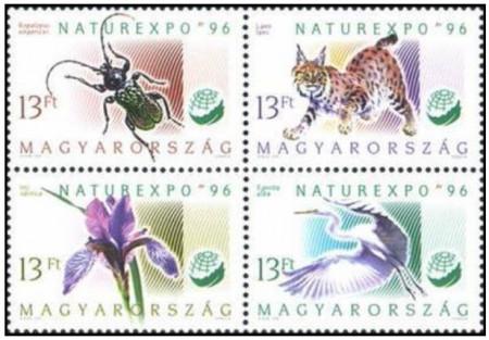 Ungaria 1996 - NaturExpo, serie neuzata