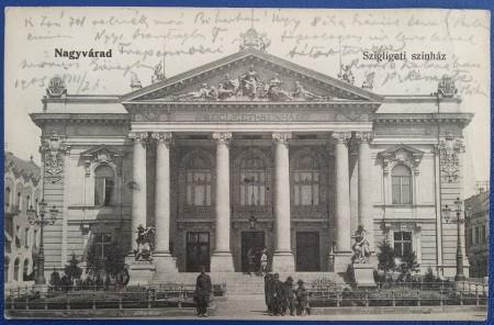 1903 - Oradea, teatrul Szigliget (jud. Bihor)