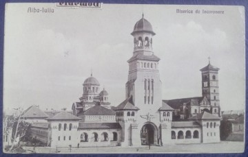 1935 - Alba Iulia, biserica de inoronare (jud. Alba)