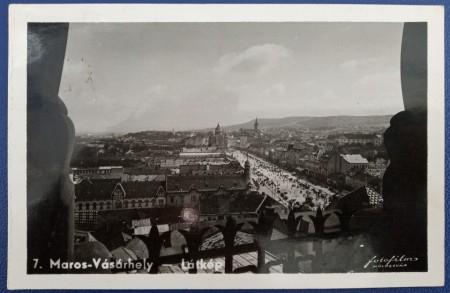 Poze 1940 - Targu Mures, vedere circulata (jud. Mures)