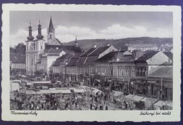 Poze 1944 - Targu Mures, piata Szechenyi (jud. Mures)