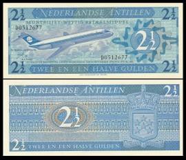 Antilele Olandeze 1970 - 2 1/2 gulden, necirculata