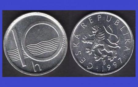 Cehia 1997 - 10 haleru, UNC