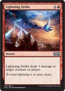 Lightning Strike  x3