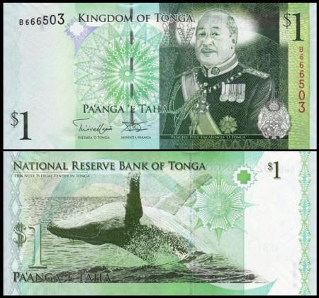 Tonga 2014 - 1 paanga, necirculata