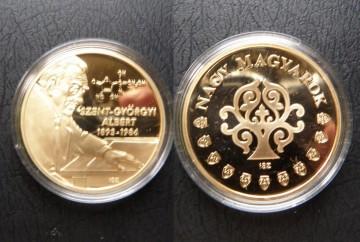Ungaria 2011 - Szent-Györgyi Albert 1893-1986, biochimist - medal aurit