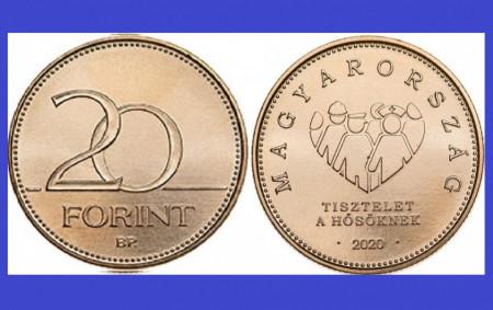 Ungaria 2020 - 20 forint UNC, comemorativ
