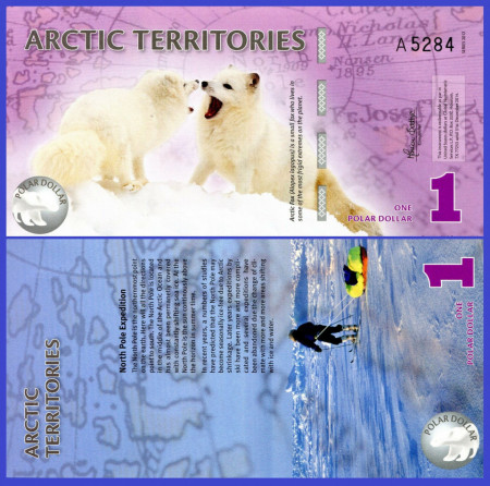 Antarctica 2012 - 1 dollar, necirculata