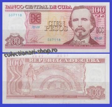Cuba 2016 - 100 peso, necirculata