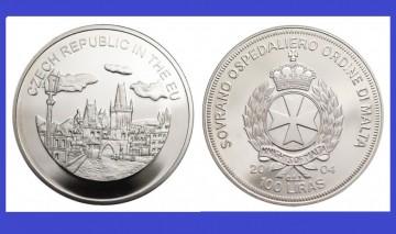 Malta 2004 - 100 lire, proof - Cehia in UE