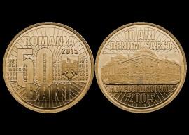 Romania 2015 - 50 bani, Banca Nationala UNC