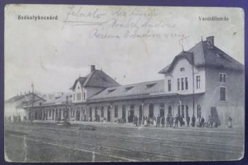 1914 - Războieni-Cetate, gara, circulata cu posta militara (jud.Alba)