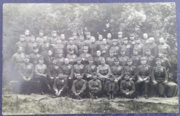 1929 - cadre militare din regimentul de infanterie maghiare