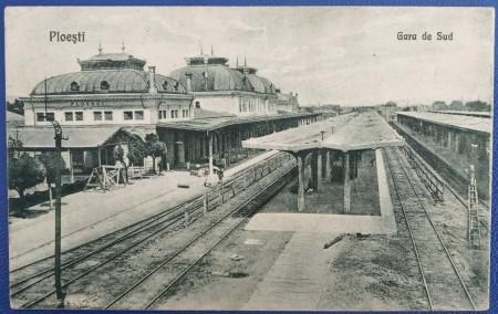 Poze 1943 - Ploiești, Gara de Sud (jud. Prahova)