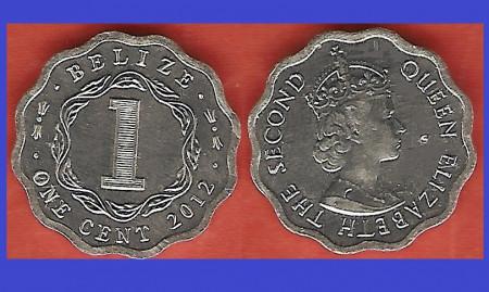 Belize 2012 - 1 cent UNC