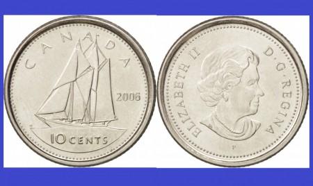 Canada 2006 - 10 cents UNC