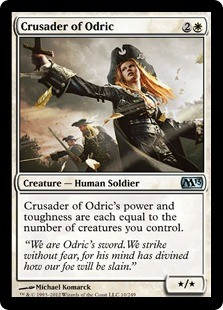 Crusader of Odric FOIL
