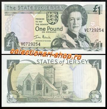 Jersey 2000 - 1 pound XF