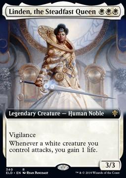 Linden, the Steadfast Queen - fullart