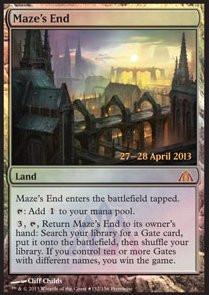 Maze's End - Promo FOIL