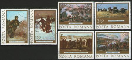 Romania 1977 - Centenarul Independenţei de Stat a României, serie stampilata