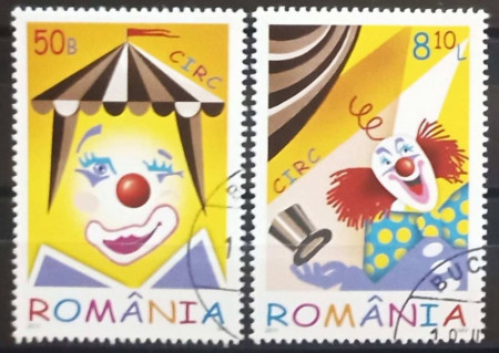 Romania 2011 - circ, serie stampilata