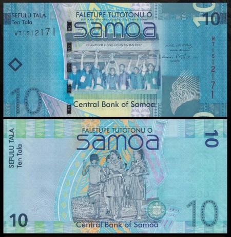 Samoa 2008 - 10 tala, necirculata