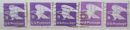 Statele Unite 1981 - porto (18c), serie stampilata