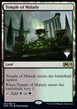 Temple of Malady (V.1) x3 FOIL