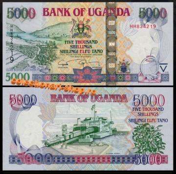 Uganda 2008 -  5000 shillings, necirculata