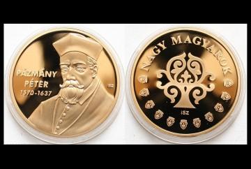 Ungaria 2011 - Pazmany Peter 1570-1637, cardinal - medal aurit