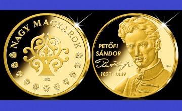 Ungaria 2011 - Petőfi Sándor 1823-1849, poet - medal aurit