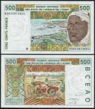 Benin 2002 - 500 fancs UNC