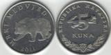 Croatia 2011 - 5 kuna, circulata