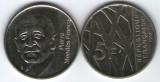 Franta 1992 - 5 franci, circulata