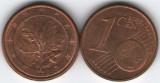 Germania 2007G - 1 eurocent, circulata