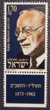 Israel 1989 - Rabbi Judah Leib Maimon (scriitor), neuzata cu tabs