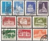 Romania 1973 - Monumente, serie stampilata