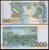 Sao Tome 1996 - 10.000 dobras, necirculata