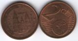 Spania 2009 - 2 eurocent, circulata