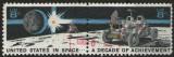 Statele Unite 1971 - în spațiu - o decadă de realizări, serie stampilata